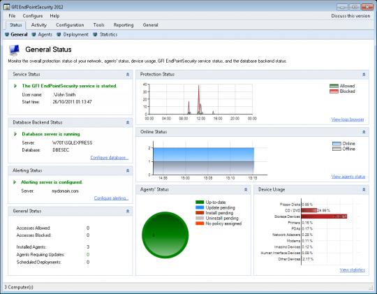 کرک نرم افزار Gfi EndPoint Security