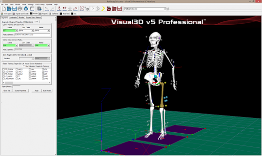 نرم افزار visual3d