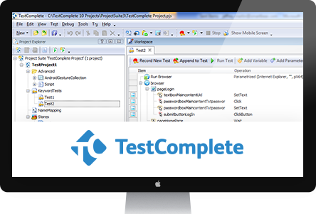 کرک نرم افزار testcomplete