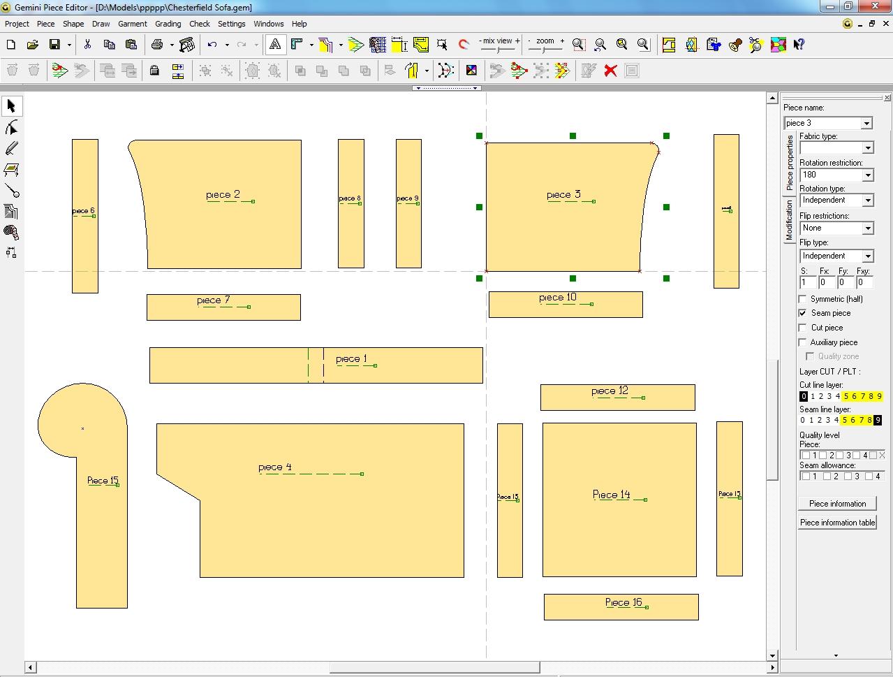 کرک نرم افزار gemini pattern editor